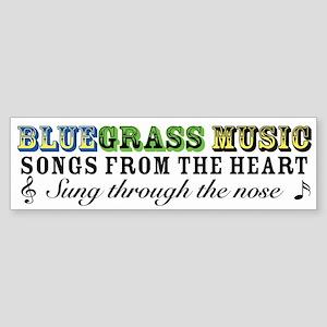 Bluegrass Bumper Sticker