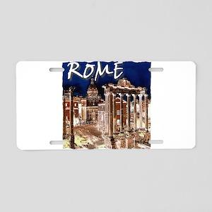 Ancient Rome Aluminum License Plate