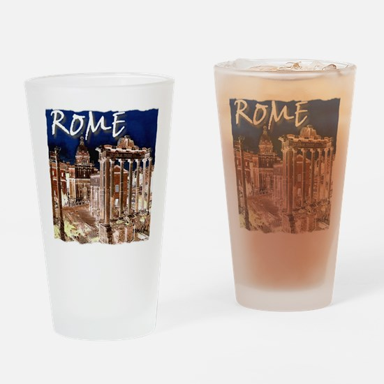Ancient Rome Drinking Glass
