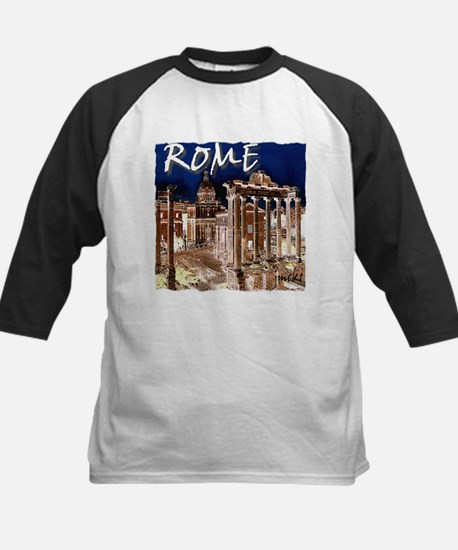 Ancient Rome Kids Baseball Jersey