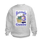 New Orleans Food: Gumbo Kids Sweatshirt