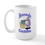 New Orleans Food: Gumbo Large Mug