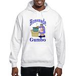 New Orleans Food: Gumbo Hooded Sweatshirt