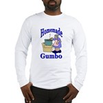 New Orleans Food: Gumbo Long Sleeve T-Shirt