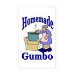 New Orleans Food: Gumbo Rectangle Sticker
