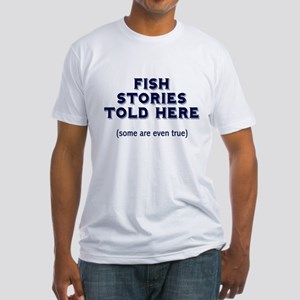 Fish Stories Fitted T-Shirt