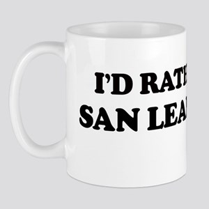Rather: SAN LEANDRO Mug