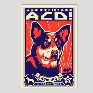 Obey the ACD! Propaganda Postcards (8 Pack)