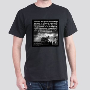 Hammarskjold God Quote 2 Dark T-Shirt
