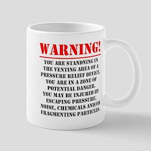 Warning - Venting Area Mug