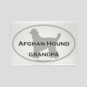 Afghan Hound GRANDPA Rectangle Magnet