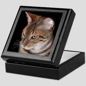 Bengal Cat Keepsake Box