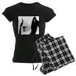 Georgie Goat Women's Dark Pajamas
