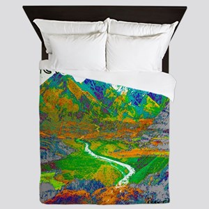 New Zealand Queen Duvet