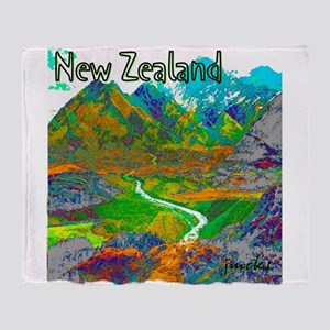 New Zealand Throw Blanket