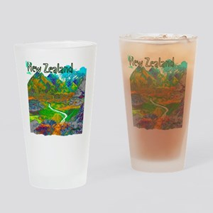 New Zealand Drinking Glass