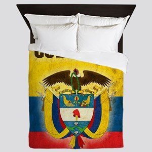 Vintage Colombia Queen Duvet