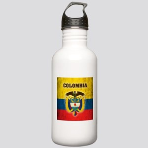 Vintage Colombia Stainless Water Bottle 1.0L
