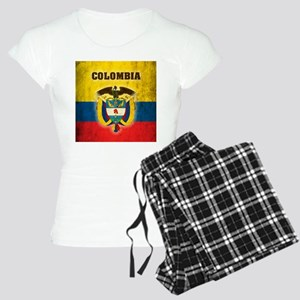 Vintage Colombia Women's Light Pajamas