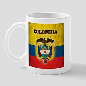 Vintage Colombia Mug