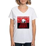 DoomDawn Women's V-Neck T-Shirt