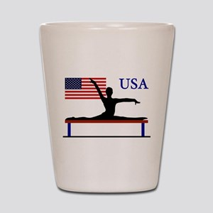 USA Gymnastics Shot Glass