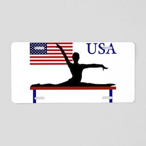 USA Gymnastics Aluminum License Plate