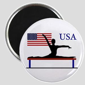 USA Gymnastics Magnet