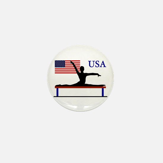 USA Gymnastics Mini Button