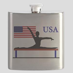 USA Gymnastics Flask