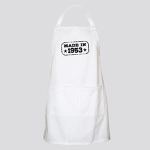 Made In 1953 Apron