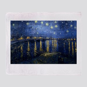 vincent van gogh Throw Blanket