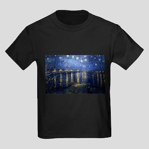 vincent van gogh Kids Dark T-Shirt