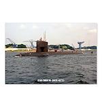 USS DRUM Postcards (Package of 8)