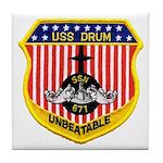 USS DRUM Tile Coaster