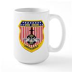 USS DRUM Large Mug