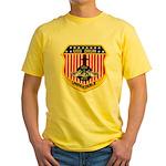 USS DRUM Yellow T-Shirt