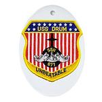 USS DRUM Ornament (Oval)