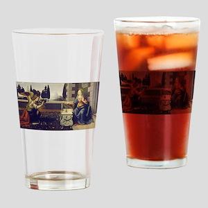 leonardo da vinci Drinking Glass