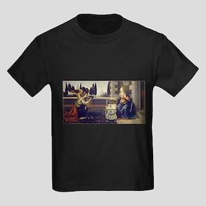 leonardo da vinci Kids Dark T-Shirt