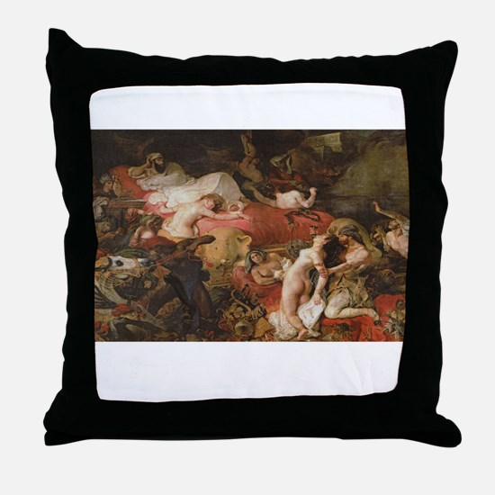 delacroix Throw Pillow