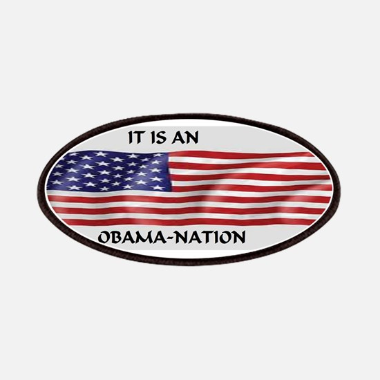 Obama Nation Flag Patches