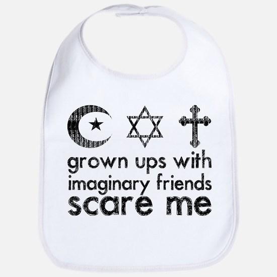 Imaginary Friends Bib