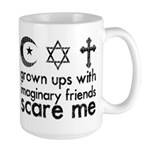 Imaginary Friends Large Mug