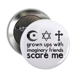 """Imaginary Friends 2.25"""" Button (10 pack)"""