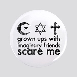 "Imaginary Friends 3.5"" Button"