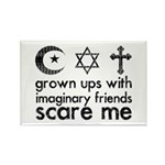 Imaginary Friends Rectangle Magnet (10 pack)