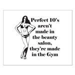 perfect 10 Small Poster