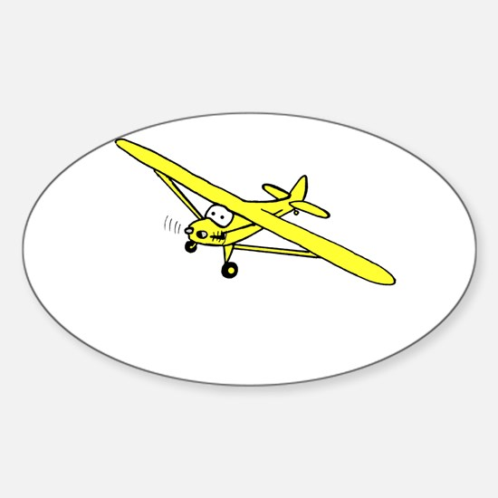 Yellow Cub Sticker (Oval)