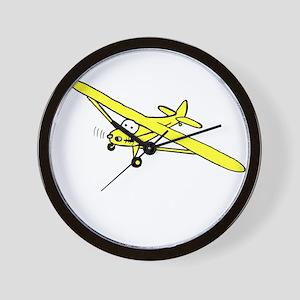 Yellow Cub Wall Clock